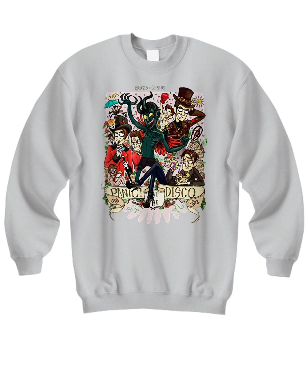Demon panic at the disco sweatshirt