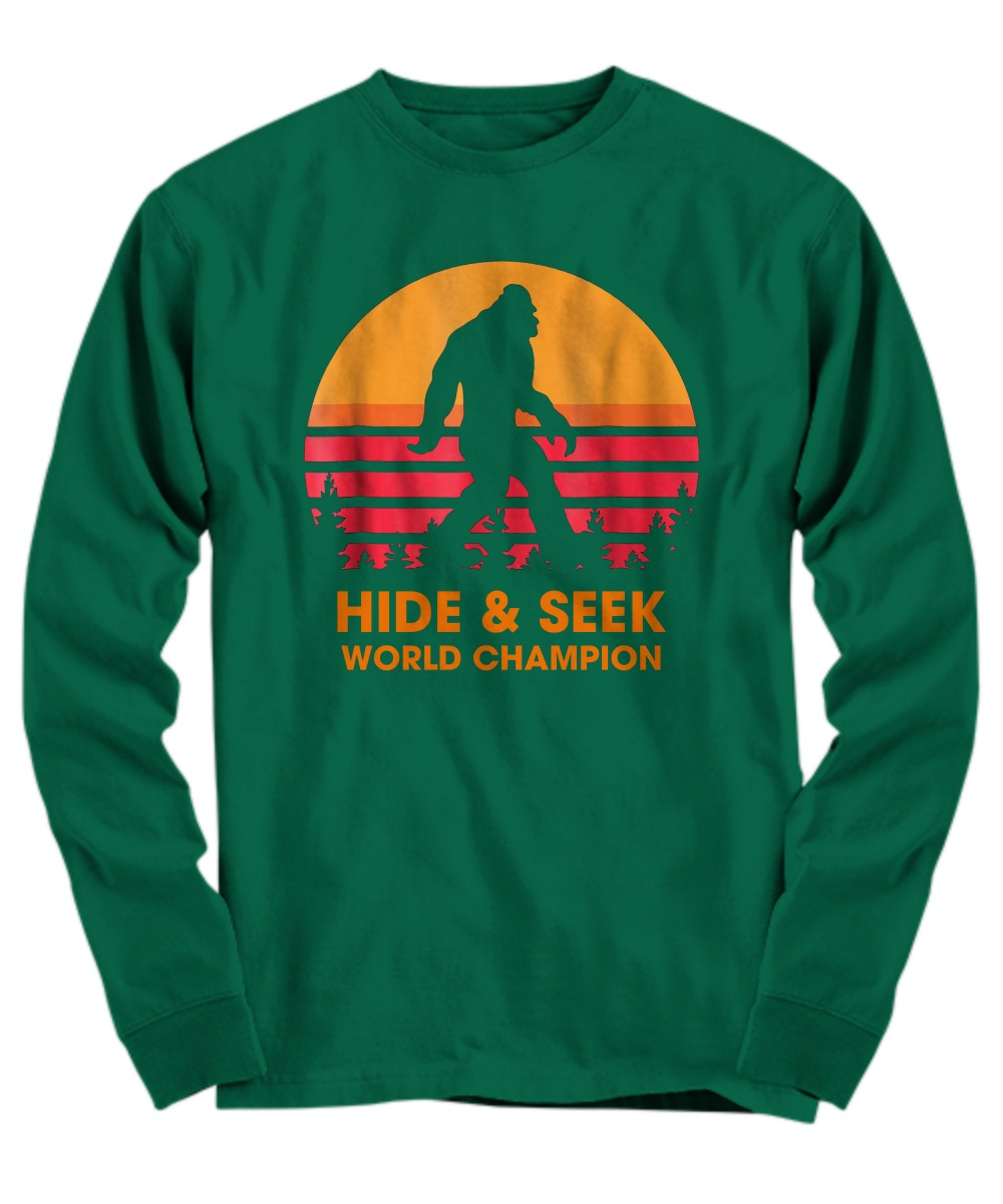 Monster hide & seek world champion Long sleeve