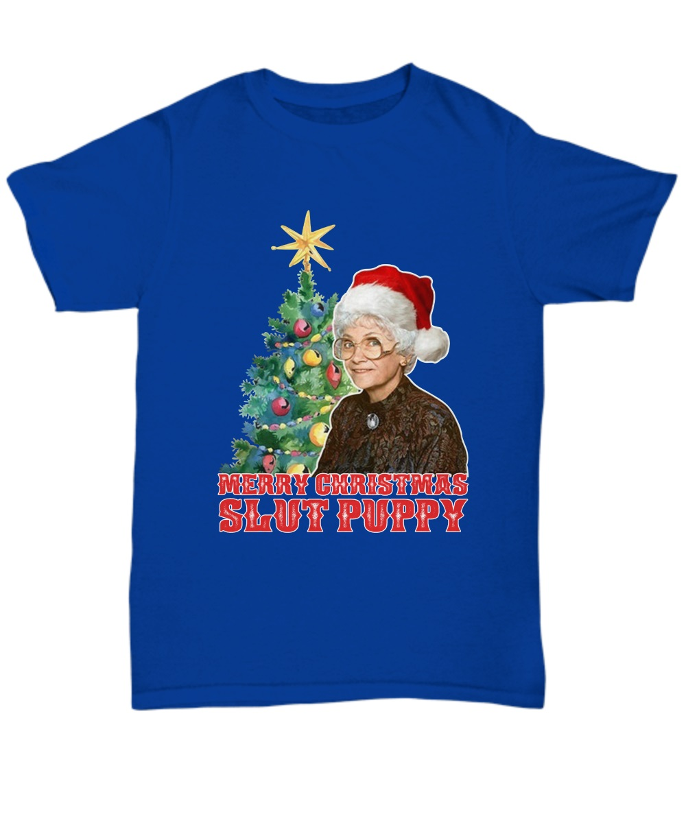 Golden Girls Sophia merry Christmas slut puppy classic shirt
