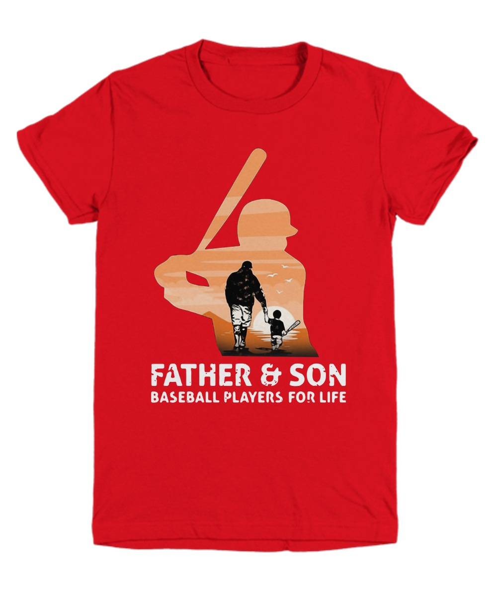 Father and son baseball players for life Youth Tee