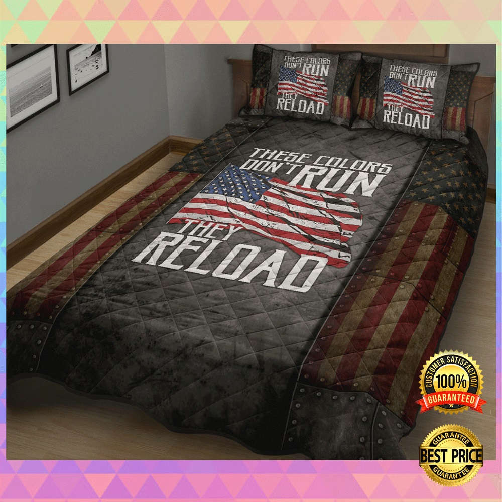 These colors dont run they reload bedding set2 2