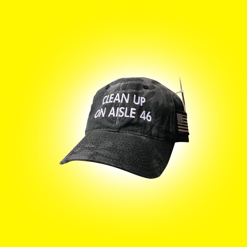 CleanUp On Aisle 46 Cap Hat