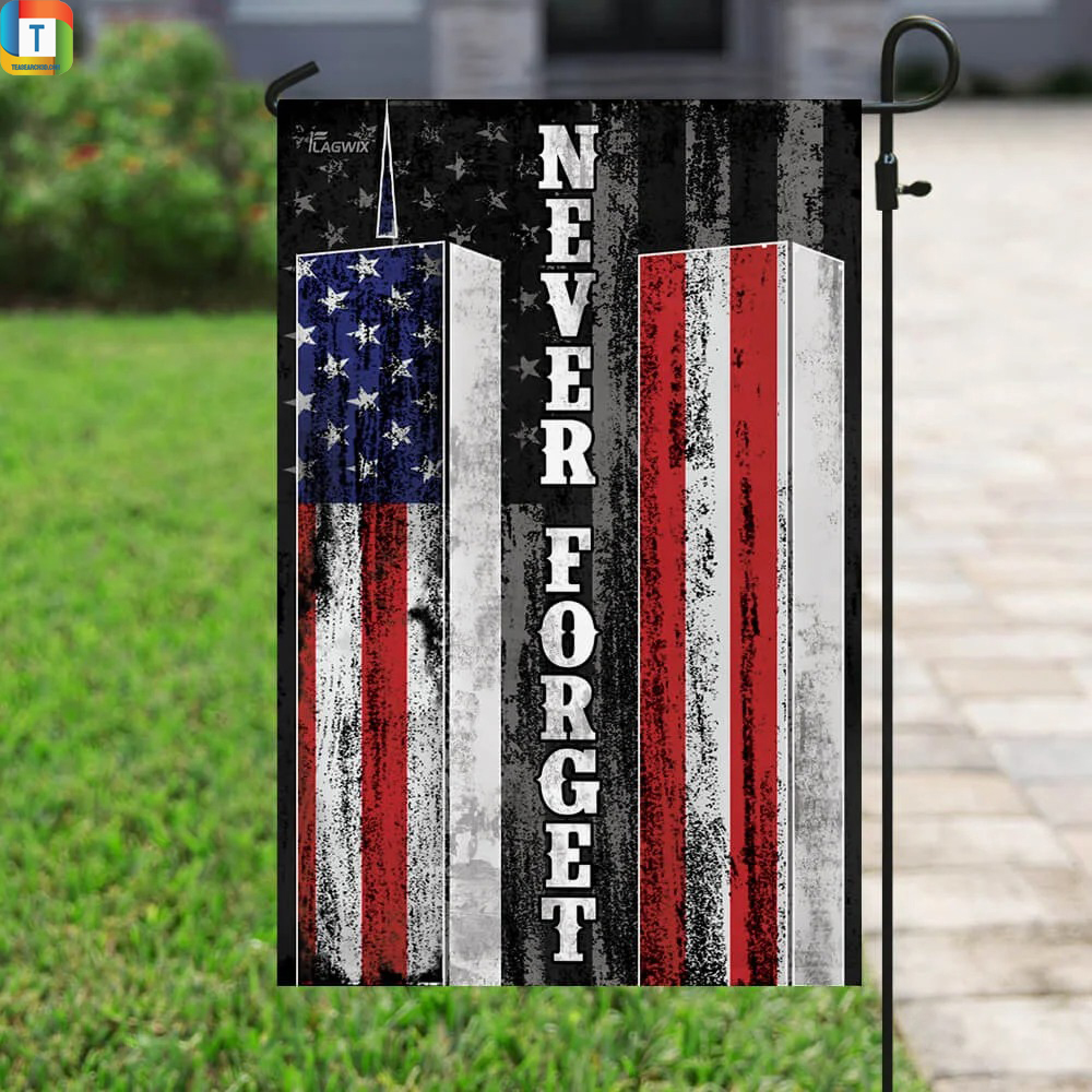 Patriot Day 911 Never Forget American Flag 2