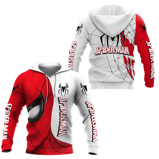 Spider-man Punisher Skull 3d all over printed hoodie